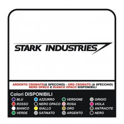 2 autocollants de STARK INDUSTRIES autocollants IRON MAN stark industries autocollants décalques