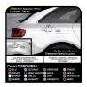 Stickers tank car supply for mini cooper lancia Y honda jazz stickers