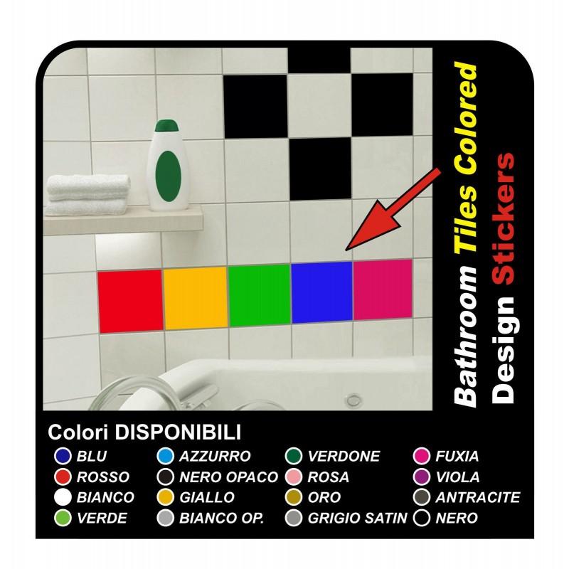 5 adhesivos para azulejos de 20x20 cm Decoración Pegatinas ...