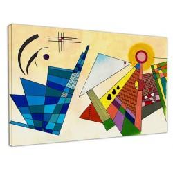 La peinture Abstraite de Kandinsky - WASSILY KANDINSKY Abstrait
