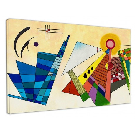 Painting Kandinsky Abstract - WASSILY KANDINSKY Abstract