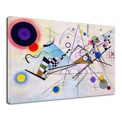 El marco de Kandinsky, la Composición VIII - WASSILY KANDINSKY Composición 8