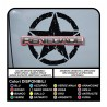 decals star jeep renegade stickers side star stickers decal