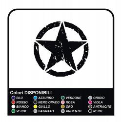 Sticker STAR RENEGADE cm 35 star military 4X4