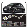 Kit stickers 18 DAISIES stickers flowers cars Flowers stickers NEW
