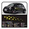 Kit adesivi auto STELLE 34PEZZI adesivi stelle car stars stickers