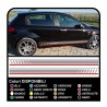decals for alfa romeo - lateral bands 147 the MYTH of ducati corse stickers Giulietta tuning decals
