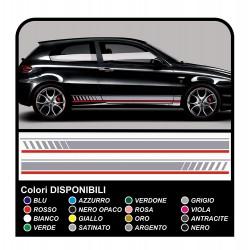 adesivi per alfa romeo - fasce laterali 147 MITO ducati corse stickers Giulietta tuning decals