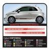 side stripe 500 custom strip point audi bmw abarth super sport