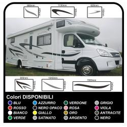 MOTORHOME graphiques de vinyle autocollants décalques rayures camping-car, CARAVANE, Motorhome - graphiques 03