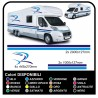 MOTORHOME graphics vinyl stickers decals stripes Set CAMPER VAN CARAVAN Motorhome - graphics 07