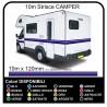 Adhesives for RV VINYL STRIPES from 10 METRES for CAMPER VAN CARAVAN Horsebox adhesive strips camper - graphics 11