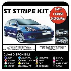 kleber für FORD FIESTA MK6 ST-Streifen, Auto Vinyl-Abziehbilder Grafiken selbstklebende bänder typ Viper