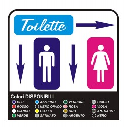 COMPLETE KIT signs toilet WC bathroom 6 stickers PROFESSIONAL for restaurant, hotel, local pubs and businesses