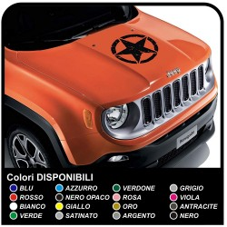adhesive bonnet jeep renegade star consumed sticker jeep renegade and wrangler