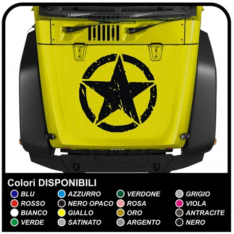 adhesive hood for jeep star consumed sticker for jeep renegade and wrangler Trailhawk 4x4