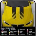 2x adhesive strips bonnet audi bmw stickers decoration car Stripes Rally Viper mercedes Mito, Giulietta, fiat 500, mini cooper