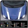 aufkleber motorhaube mini cooper countryman Auto-Viper-kit MOTORHAUBE COUNTRYMAN John-Cooper-ONE ALLE MODELLE