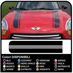 pegatinas de la campana mini cooper Rayas Coche de Rally de Víbora kit de adhesivo rayas COUNTRYMAN John Cooper el UNO con