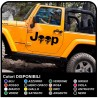 adhesive side jeep star military consumed Skull Willys US Army car stickers Tuning stickers door skull