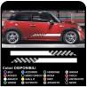 MINI COOPER kit adhesive stripes COUNTRYMAN John Cooper ONE adhesive strips side racing ALL mini MODELS Stripes Rally