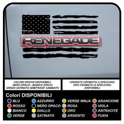 aufkleber jeep renegade amerikanische flagge verbraucht US ARMY aufkleber für tür